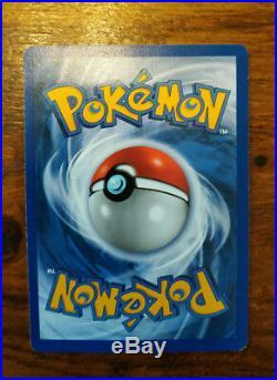 ULTRA RARE Pokemon Card Holo Shiny Machamp 1st Edition Base Set/First Generation
