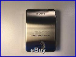 ULTRA RARE SONY WALKMAN WM-EX20 20th ANNIVERSARY MODEL WithBOX MINT LTD EDITION