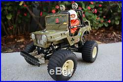 ULTRA RARE TAMIYA WILD WILLY'S SWB (Short Wheelbase Version) 5835 Nice Original
