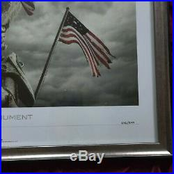 ULTRA RARE The Monument Lithograph Limited Edition 292/300 Framed Fallout 3 4 76