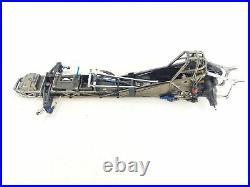 ULTRA RARE Traxxas 1/8 Funny Car PLATINUM EDITION Roller with Aluminum WheelieBa