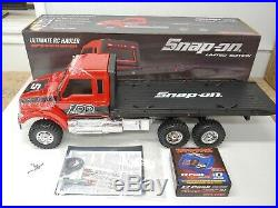 ULTRA RARE Traxxas Snap-On Limited Edition Ultimate RC 6x6 Semi Hauler New