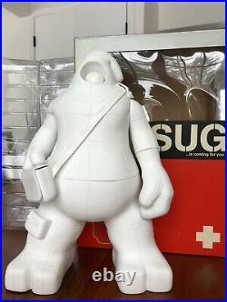 UNKL SUG White DIY ULTRA RARE Edition of 13 Vinyl Figure Toy KAWS 2005