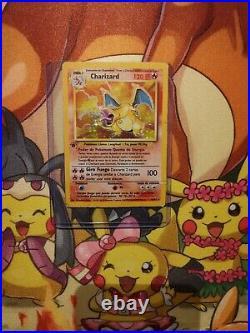 Ultra Mega Rare Pokemon Charizard Holo (first Edition) Base Set 4/102