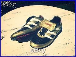 Ultra RARE Vintage Adidas Predator 1994 Original Limited Edition Gold Uk 8.5