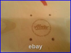 Ultra Rare ALVA Limited Edition Tony Alva AUTOGRAPHED Reissue Skateboard Deck