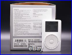 Ultra Rare Apple iPod Classic 1st Generation Jimi Hendrix Edition 10gb