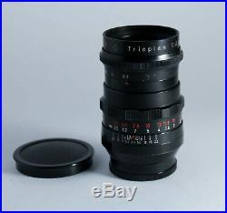 Ultra Rare Black Version Meyer Optik Trioplan F/2,8 100mm M42 Lens Bubble Bokeh
