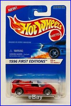 Ultra Rare Ferrari F50 Error! 1996 Hot Wheels First Editions Radio Flyer Card