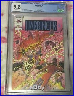Ultra-Rare Harbinger 0 Pink Mailaway Edition CGC 9.8 Only 326 in CGC Census