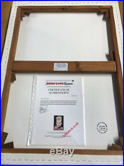 Ultra Rare JAMIE REID SEX PISTOLS Signed Ltd Edition SUE CATWOMAN DOLLS Print