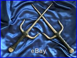 Ultra Rare Limited Edition Gabrielle Sais Prop From Xena With Original Coa