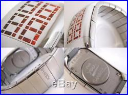 Ultra Rare New Philippe Starck By Fossil Limited Edition Still Watch Ph4001