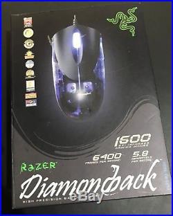 Ultra Rare Original (2004) Razer DiamondBack Plasma Limited Edition Gaming Mouse