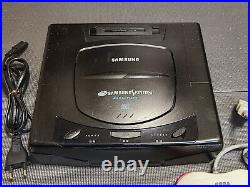 Ultra Rare Samsung SEGA Saturn SPC-ST Korean Version Game Console SNES Genesis
