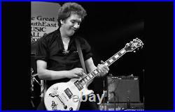 Ultra Rare Steve Jones Gibson Les Paul Custom Guitar Ltd Edition c/w Signed COA