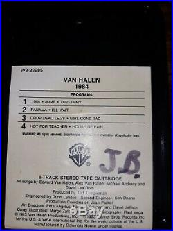 Ultra Rare Van Halen 1984 Sought After Columbia House 8-track Edition