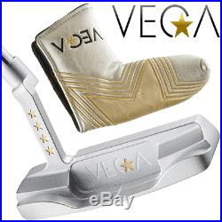 Ultra Rare Vega Vp-04 Putter 34 + Headcover Ltd Edition Model 1/100