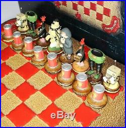 Ultra Rare Vintage Wallace & Gromit Collectors Edition Chess Set (1989)