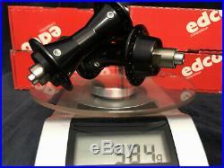 Ultra rare NOS Vintage EDCO competition precision speed hub set black edition 36
