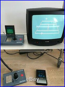 Ultra-rare TCHIBO TELE FEVER Emerson Arcadia 2001 (German variant) +2 Games