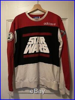 Ultra rare limited edition Adidas Star Wars Sweater Sweatshirt