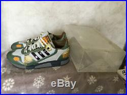 Ultra rare limited edition Star Wars Boba Fett ZX800 trainers Size 9 Uk Men
