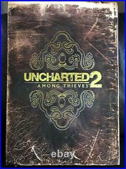 Uncharted 2 Among Thieves Fortune Hunter Edition PS3 ULTRA RARE