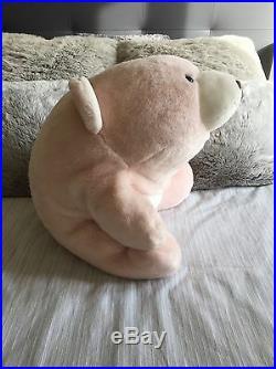 Very ultra Rare 20 25th Anniversary Edition Blush Pink Snuffles Bear #45980