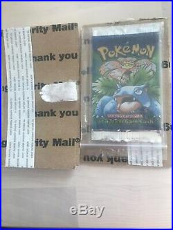 Vintage Extremely Rare 1999 Sealed 1st Edition Shadowless Base Set Pack