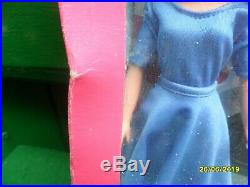 Vintage Sindy Doll Boxed Nrfb Ultra Rare Blue Version Party Time 44743 1981