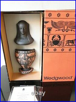 Wedgwood Egyptian Collection Canopic Vase Ultra Rare Ltd Edition 500