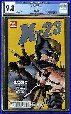 X-23 #15 CGC 9.8 Laura Kinney Wolverine Variant ULTRA RARE LOGAN Daredevil Homag