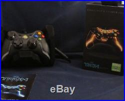 Xbox 360 Collector's Edition Tron Clue Orange Controller 167/250 Ultra Rare