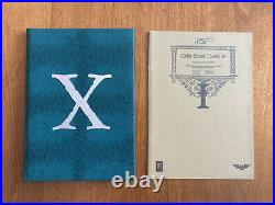 Xenology Limited Collectors Edition Ultra Rare, Out of Print (176 of 300)