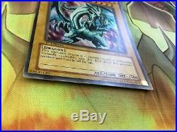 YuGiOh Blue-Eyes White Dragon LOB-E001 1st Edition Ultra Rare English 2002