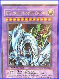 YuGiOh Dragon Master Knight Ultimate Edition 02 2006 Ultra Rare PSA 9 UE02-EN001