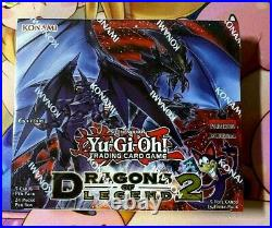 YuGiOh Dragons of Legend 2 Booster Box 1st Edition Sealed New