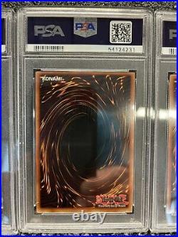 YuGiOh Exodia 5 card set LOB 1st Edition PSA 8,9,9,9,9 (4 WAVY)
