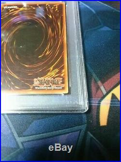 YuGiOh! Metal Raiders MRD-003 Summoned Skull 1st Ed Edition PSA8