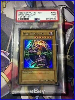 YuGiOh PSA 9 Dark Magician SDY-006 1st Edition Ultra Rare MINT Holo
