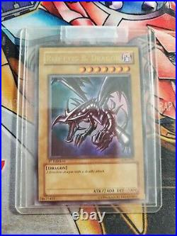 YuGiOh! Red-eyes B. Dragon LOB-070 1st Edition NM US version! Great condition