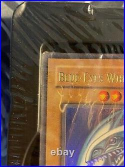 YuGiOh Starter Deck Kaiba SDK Sealed 1st Edition Well-Centered Blue-Eyes PSA 10