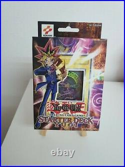 YuGiOh Starter Deck Yugi SDY 1st Edition Sealed Dark Magician Mint Condition