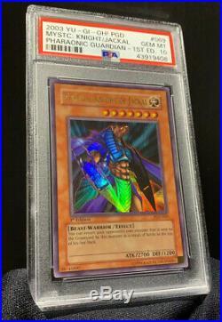 Yu-Gi-Oh! 1st Edition Mystical Knight Of Jackal PGD-069 PSA 10 Gem Mint