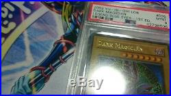 Yu-Gi-Oh! 1st edition PSA9 English LOB-005 Dark Magician