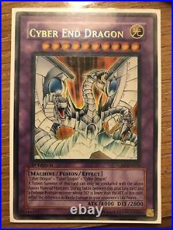 Yu-Gi-Oh Cyber End Dragon 1ST EDITION ULTRA RARE CRV-EN036