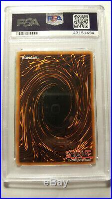 Yu-Gi-Oh! Dark Magician of Chaos IOC-065 Ultra Rare 1st Edition PSA 9 Mint