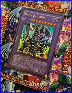 Yu-Gi-Oh Dark Paladin 1st Edition Ultra Rare MFC-105 NM-MT PSA