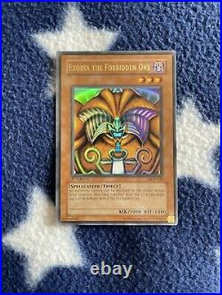 Yu-Gi-Oh! Exodia The Forbidden One LOB 1st Edition Ultra Rare Complete Set
